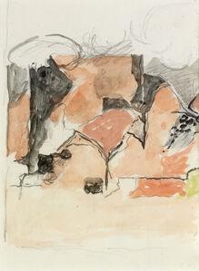 Graham Sutherland, 'Pembrokeshire Pink Landscape Study', 1968