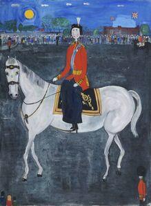 Dora Holzhandler, 'Queen Elizabeth II on Horseback', 1963