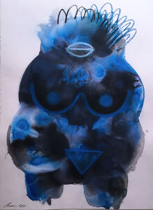 Shamona Stokes, 'Blue Venus I', 2020