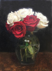 Patt Baldino, 'Roses are Red, Also White', 2018
