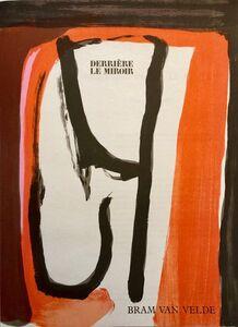 Bram van Velde, 'Lithographe', 1980