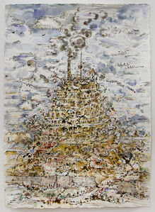 David Scher, 'Babel and Smoke', 2018
