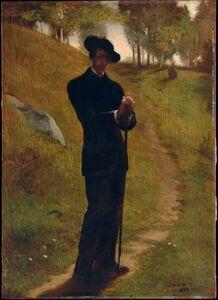 John La Farge, 'Portrait of the Painter', 1859