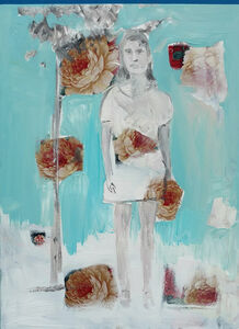 Shahram Karimi, 'Woman and Tree', 2018