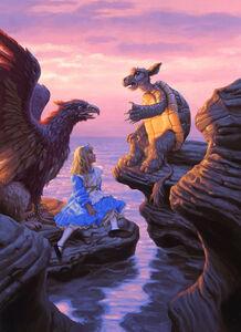 Greg Hildebrandt, 'The Mock Turtle', 1990