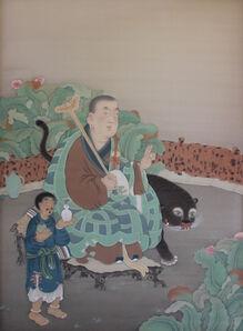 Guo Hui 郭輝, 'Arhat Kanakavatsa 迦諾迦伐蹉', 2020