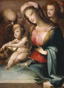 Domenico Beccafumi, 'The Holy Family with Angels', ca. 1545/1550
