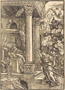 Hans Schäufelein the Elder, 'The Annunciation'