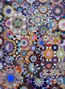 Joyce Kozloff, 'Paris and Brooklyn', 2015