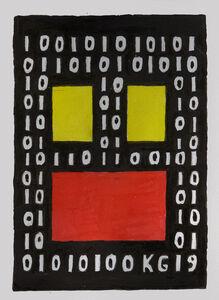 Ken Grimes, 'Untitled (Binary Code)', 2019