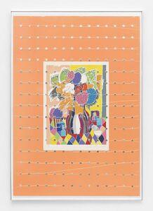 "Brad Troemel, 'Gloria Vanderbilt 'Tiger Lilies', 2013 (29"" x 36"") Lithograph + 1946 - 2014 COMPLETE ROOSEVELT DIME SET ALL BU, Clad and Silver Proof', 2015"
