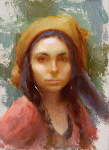 Susan Lyon, 'Blue Feather', 2015