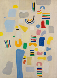 Caziel, 'Composition 1967.V', 1967