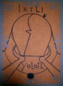 José Bedia, 'IXTLI YOLOTL', 1997