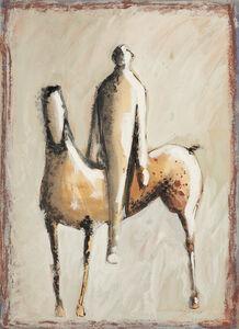 Marino Marini, 'Cavaliere e Cavallo ', 1944