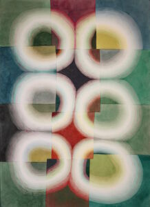 Susan Pasquarelli, 'Light Rings Green', 2019