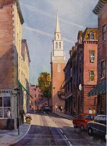 Frederick Kubitz, 'Old North Church, North End, Boston', 2015