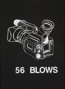 """Deborah Grant, '56 Blows from """"Blackboard"""" series', 2003"""