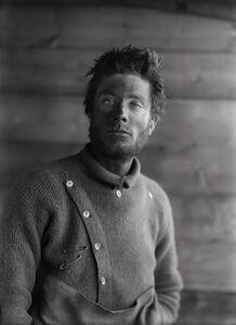 Herbert George Ponting, 'Bernard Day on his Return from the Barrier, 21 December', 1911