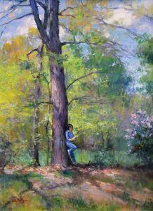Gary D. Hoffmann, 'Springtime', 2018