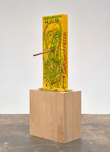 Mark Grotjahn, 'Untitled (Yellow Cosco VII Mask M40.o)', 2016