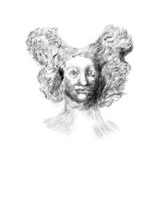 Sarah Peters, 'Woman with Ecstatic Hair', 2012