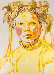 Claire Tabouret, 'Makeup (Ribbons)', 2016