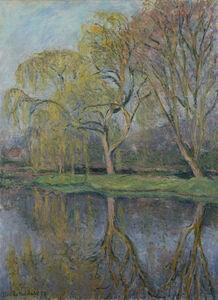 Blanche Hoschedé-Monet, 'Le Printemps (Le bassin aux nymphéas à Giverny)', 1928