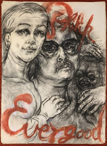 Philip Evergood, 'Poster Design for Gallery 63', 1950-1960