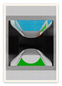 Jesús Perea, 'M336 (Abstract new media)', 2018