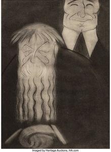Marius de Zayas, 'Alfred Stieglitz; Rodin and Edward J. Steichen; John Marin and Alfred Stieglitz (three caricatures)', 1914