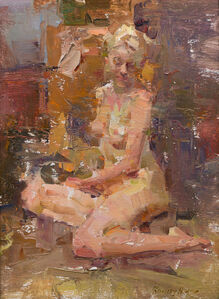 Quang Ho, 'Seated Nude', 2020