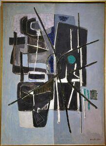 Renato Birolli, 'The lagoon is white', executed in 1954