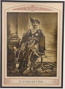 Raja Deen Dayal, 'The Thakore Saheb of Palitana', ca. 1890