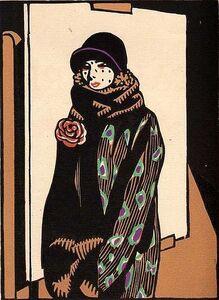 Hermann-Paul, 'Le calvaire', 1928