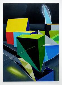 Genti Korini, 'Simulation on the axes 4', 2020