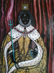 Eria Sane Nsubuga, 'Queen Britannia', 2019