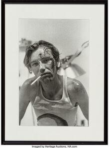 Attributed to Ed Templeton, 'Untitled (Teenage boy smoking)'