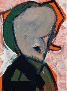 Erkut Terliksiz, 'Lady with the green coat', 2019