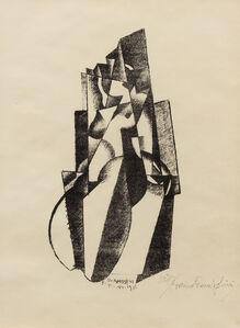 Enrico Prampolini, 'Figure in Bewegung', 1922
