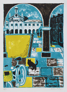 Julian Trevelyan, 'Emmanuel College, Cambridge', 1961