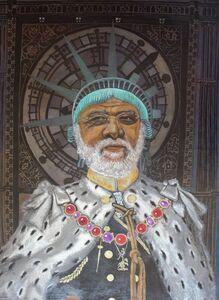 Eria Sane Nsubuga, 'King Paul (Gilroy)', 2020
