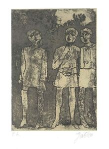 Franco Gentilini, 'Women ', 1960's
