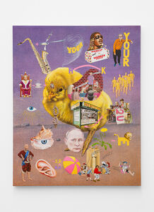 Jim Shaw, 'Mnemonic device #2, Third Stone From the Sun', 2020