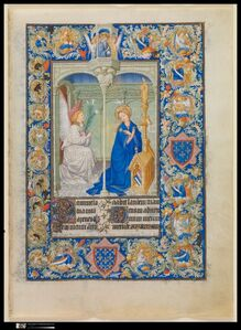 Limbourg Brothers, 'The Belles Heures of Jean de France, duc de Berry', ca. 1405–1409