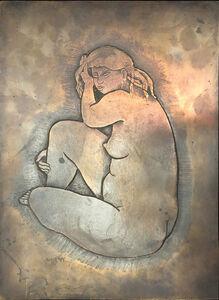 Antoniucci Volti, 'Jeune Femme'