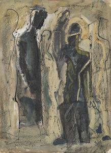 Mario Sironi, 'Figures', 1950-1940