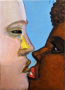 Pat Andrea, 'The kiss', 2017-2018
