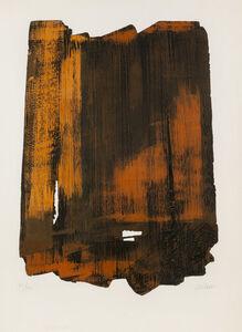 Pierre Soulages, 'Eau-Forte no 16 (Rivière XVI)', 1961