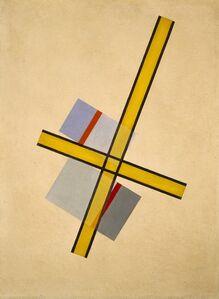 László Moholy-Nagy, 'Yellow Cross Q.7', 1922